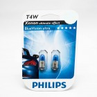 Philips T4W 12V 4W Blue Vision 12929 BV