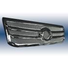 Решетка с хромированной сеткой Toyota Land Cruiser Prado FJ-120