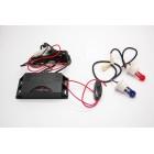 Комплект стробоскопов (красный/синий) КD 202 R/B с блоком преобразователя в упаковке
