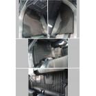 Полики салона резиновые, бежевые, комплект для TOYOTA PRADO 150 '10-
